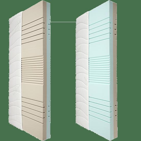 malie duo wende kaltschaummatratze. Black Bedroom Furniture Sets. Home Design Ideas
